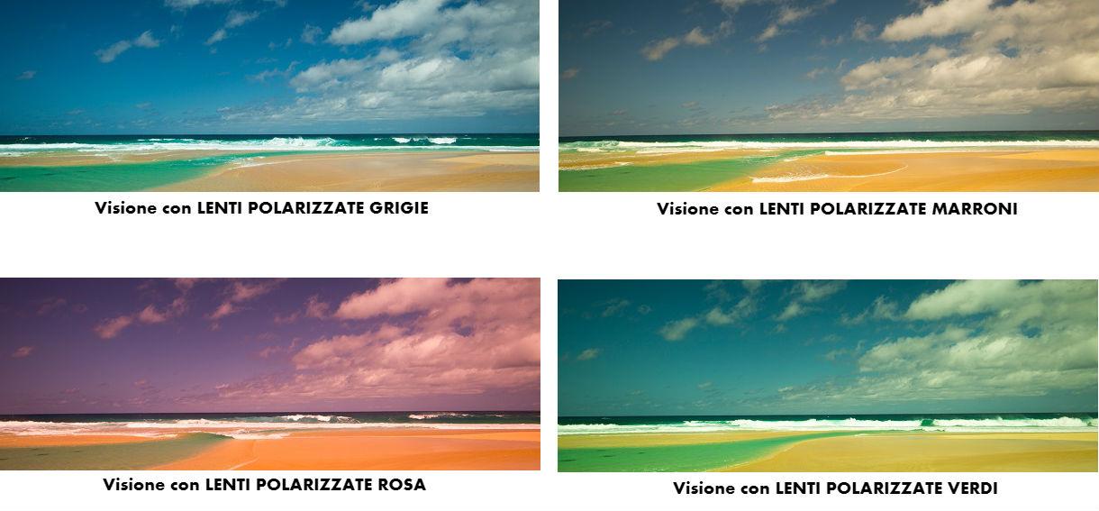 grande vendita 75d70 6faf9 Lenti polarizzate: significato e guida alla scelta del colore